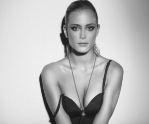 black and white and nora arnezeder image