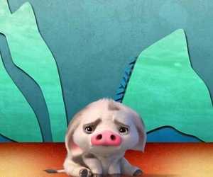 disney, moana, and pua image