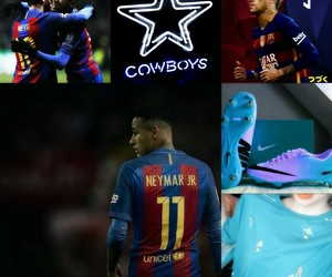 blue, neymar, and JR image