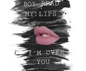 lips, edits, and Lyrics image