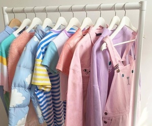 clothes, pink, and pastel image