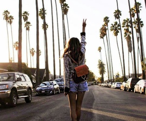 girl, outfit, and travel image