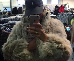 fur, coat, and outfit image