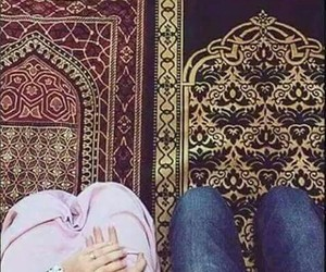 islam, muslim, and couple image