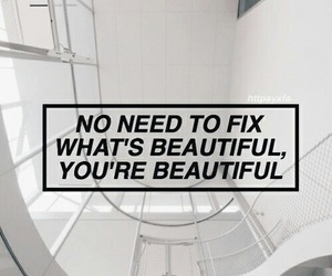 beautiful, fix, and words image