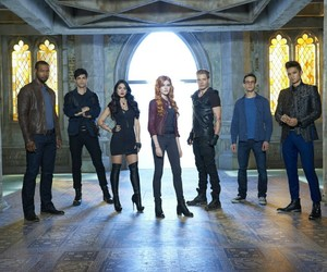 shadowhunters, jace, and clary image