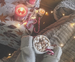 candles, cold, and cozy image