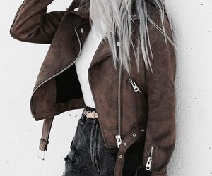 denim, jacket, and fashion image