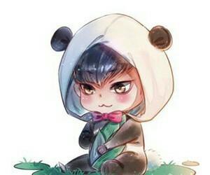 panda tao cute fanart image
