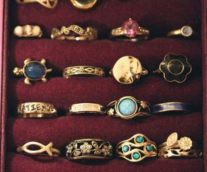 rings, ring, and vintage image