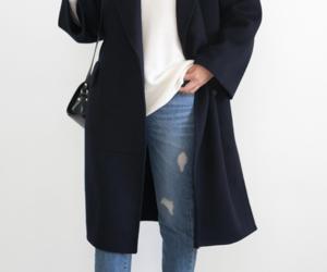 coat, fashion, and inspiration image