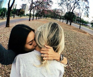 love, couple, and lesbian image