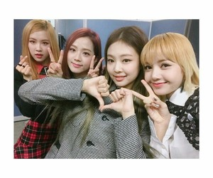 blackpink, lisa, and jisoo image
