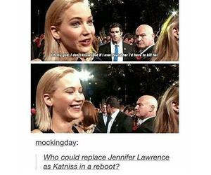 funny, Jennifer Lawrence, and tumblr image
