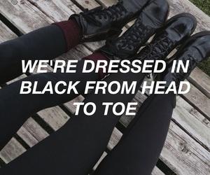 alternative, black, and grunge image