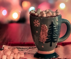 christmas, cocoa, and delicious image