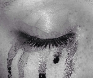 grunge, black, and sad image