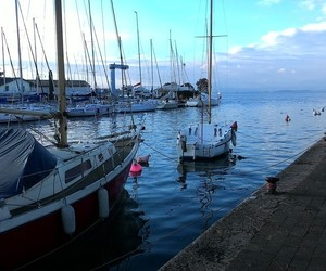 autumn, mood, and sail image
