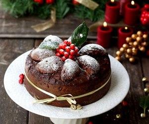 christmas, cake, and sweet image