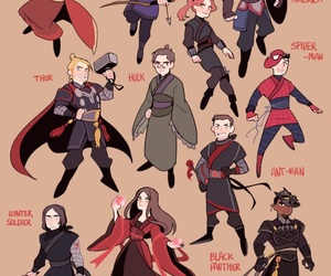 Avengers, civil war, and Marvel image