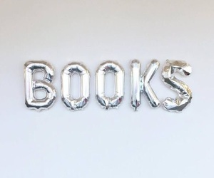 book, balloons, and aesthetic image