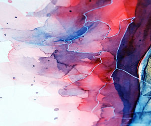 watercolor, texture, and wallpaper image