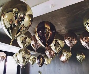 balloons and gold image