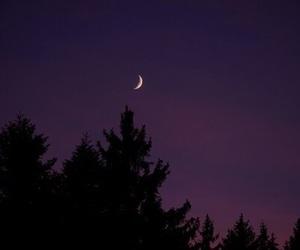 moon, purple, and alternative image