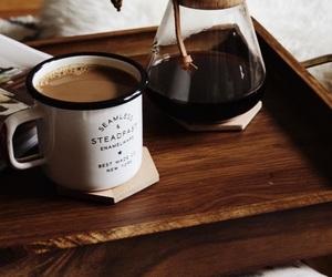 chocolate, coffee, and fall image
