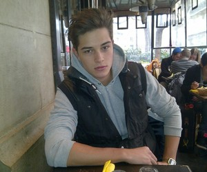 boy, Francisco Lachowski, and model image
