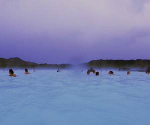 blue, purple, and sky image
