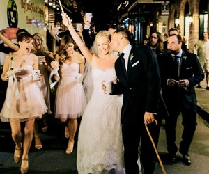 new orleans, wedding, and candice accola image