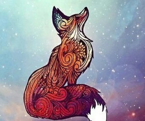 fox, wallpaper, and tapety image