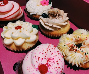 cupcake, girls, and happy image