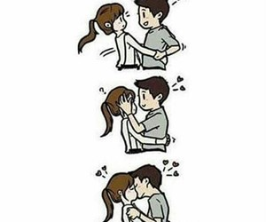 156 images about cute anime couples 3 on we heart it see more love kiss and couple image altavistaventures Images