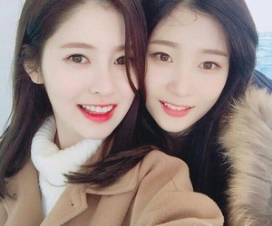 chaeyeon and yebin image