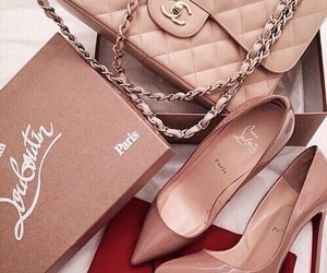 bag, louboutin, and luxe image