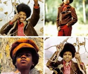Afro, autum, and boy image
