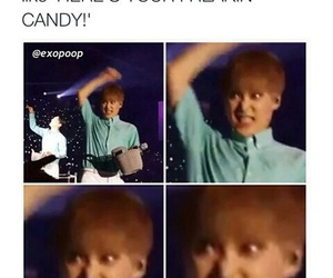 exo, xiumin, and funny image