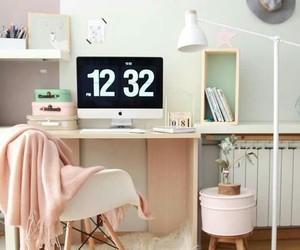 decor, desk, and ideas image
