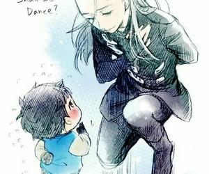 yuri on ice, yuri, and victor image