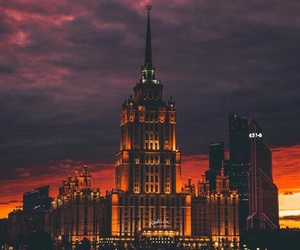 moscow, beautiful, and sky image