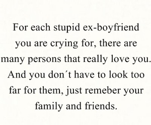quote, boyfriend, and cry image