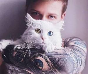 boy, guy, and tattoo image
