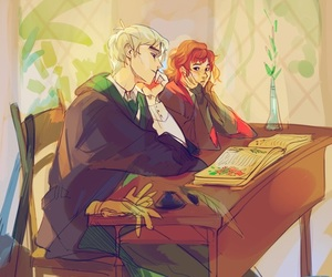 classes, snake, and dramione image