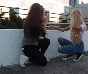 bff, girl, and photographie image