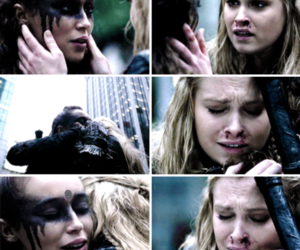 the 100, clarke griffin, and clexa image