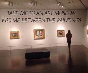 art, museum, and quotes image
