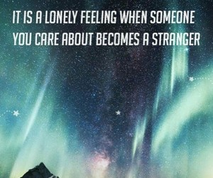 care, lonely, and phrases image