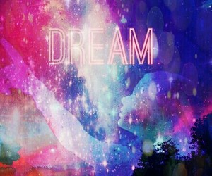 Dream, girl, and space image